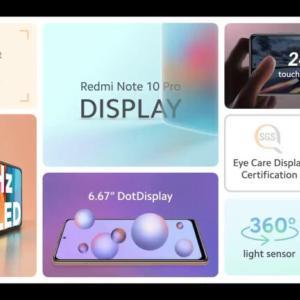 Redmi Note 10 Pro1位をキープ 今売れてるSIMフリーAndroidスマホTOP10 5/22