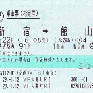 JR東日本 新宿さざなみ号