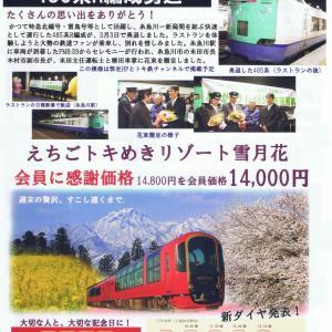 えちごトキめき鉄道 485系快速列車