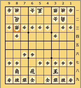将棋ウォーズ初段の将棋日記 四間飛車 VS 居飛車(棒銀)