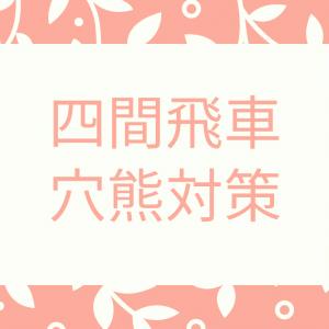 四間飛車党による穴熊対策~初心者が将棋をはじめて将棋アプリ初段を目指して(将棋中級編)~