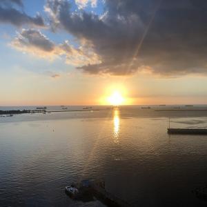 マカッサルの夕陽をホテルから見よう!スイスベルホテル・マカッサル