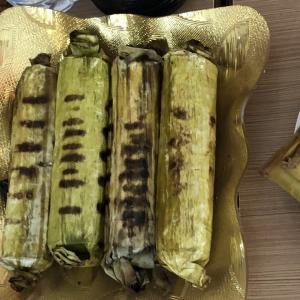 【インドネシア料理】オタッオタッはバナナの葉がポイント