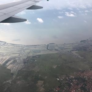 【インドネシア渡航】マカッサルからジャカルタ搭乗記