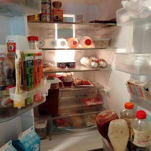 夏の中掃除!冷蔵庫の中身公開