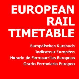 【最新情報】ヨーロッパ鉄道時刻表(英語版)10月号 ②イギリス、