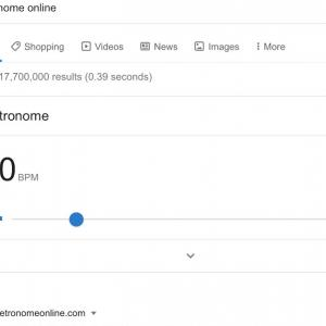 オンラインメトロノームが便利