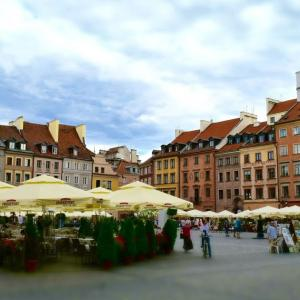 ワルシャワ市内観光