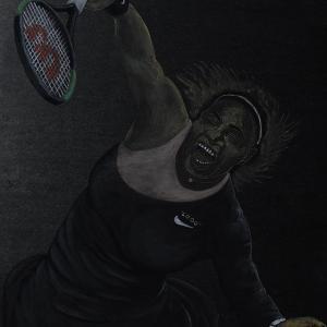 日本画「ビッグマム」