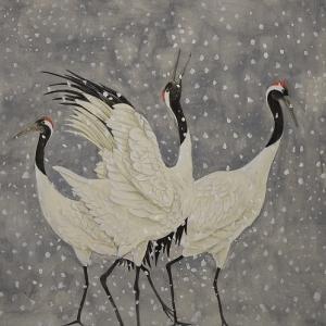水彩画から日本画へ