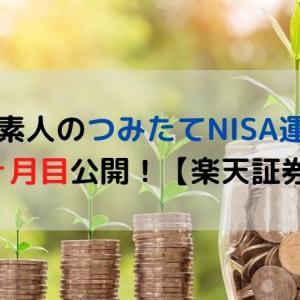 投資素人のつみたてNISA運用益3ヶ月目公開!【楽天証券】