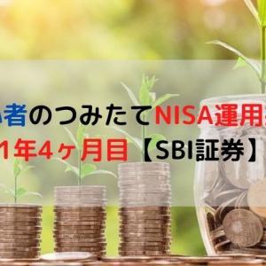 投資初心者のつみたてNISA運用益公開!1年4ヶ月目【SBI証券】