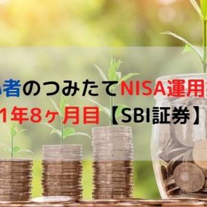 投資初心者のつみたてNISA運用益公開!1年8ヶ月目【SBI証券】