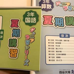 【2020年小3】四谷大塚と早稲アカの夏期講習テキストを比べてみた!