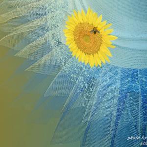 花のコサージュ