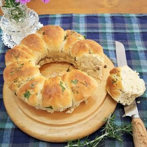 ハーブポットとハーブパン