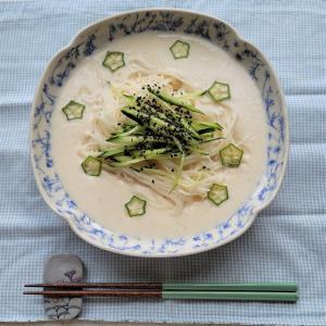 韓国風ビビン麺と豆乳麺