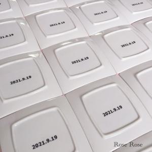 【オーダー品)ピアノ発表会の記念品♡初作成のオカリナ