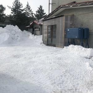 青森市M様敷地の除排雪を行いました。