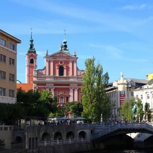 【世界旅行記】マップ付!スロベニアの首都リブリャーナを歩いてみよう!