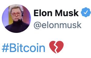 イーロン・マスク氏に振り回されるビットコイン