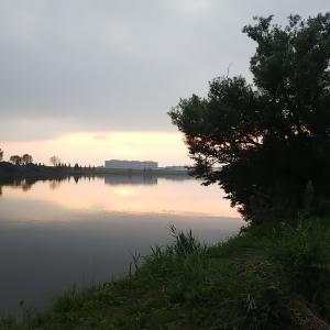 暁の岩淵水門