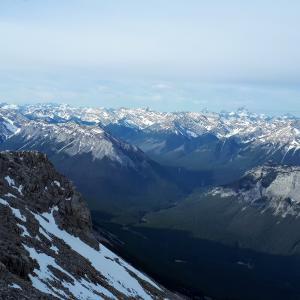 街からすぐに標高約3,000m!ランドル山