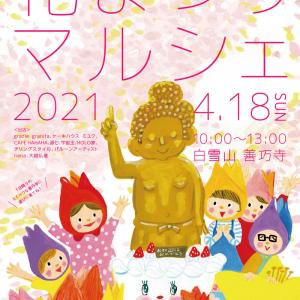 【花まつりマルシェ2021】白雪山善巧寺の境内いっぱいの花【映える】