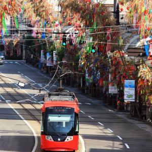 【高岡七夕祭り2021】北日本新聞納涼花火や、高岡駅前大通りの七夕飾りトンネル!