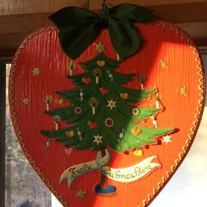 クリスマスの飾りは1個で