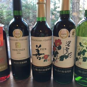 上越市岩の原葡萄園でワインを選ぶ
