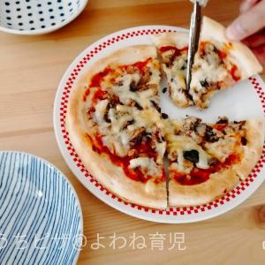 週末のお昼ご飯を作るのがめんどくさい時に!残りものピザが楽過ぎてはまってます