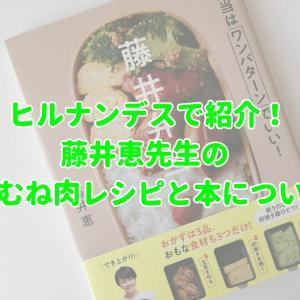 ヒルナンデスで紹介!藤井恵先生の鶏むね肉レシピと本について