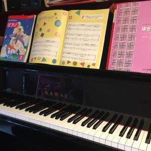 娘とピアノ②日々の練習