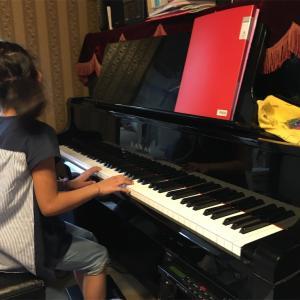 娘とピアノ④悔しさから前へ