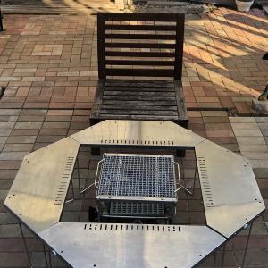 着席BBQパーティーを120%楽しむには、スノーピーク焚火台+ジカロテーブル