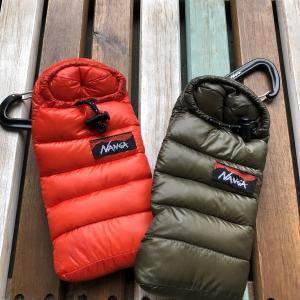 【即完売!カラバリ豊富!】   寝袋メーカーの寝袋型携帯ケース!  「NANGA ミニスリーピングバッグ フォンケース」