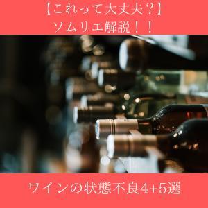 【これって大丈夫?】ソムリエ解説!!ワインの状態不良4+5選