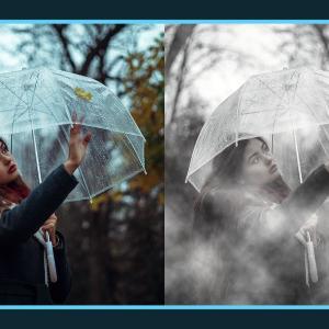 写真に霧を追加できる無料Photoshopアクション
