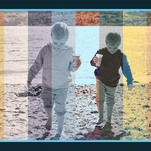 写真に10色のフィルター加工ができる加工できる無料PSDデザイン素材
