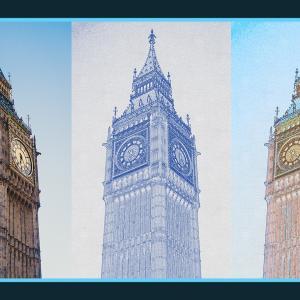 建物の写真を手描き風に加工できる無料Photoshopアクション