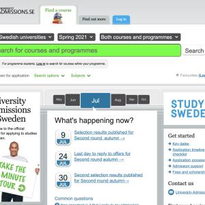 【大学院留学前準備】スウェーデンの大学院を留学を目指す!出願準備編。