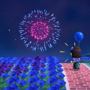 【あつ森】はじめての花火大会