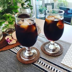 神楽坂緑の豆アイスコーヒー