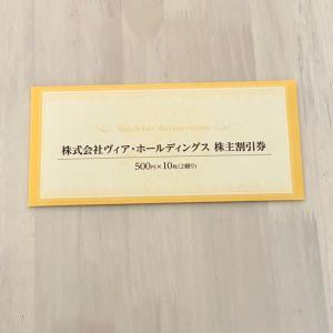 【株主優待】ヴィア・ホールディングス