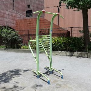 筋トレ器具のある公園 新宿区:東大久保公園