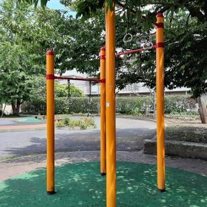 筋トレ器具のある公園 練馬区:豊玉さくら公園