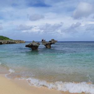名護からテイーヌ浜・ハートロックを見に行く Go toで沖縄旅行記⑤