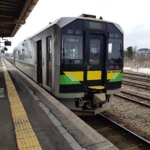 【乗車記】函館本線の山線(長万部から小樽) 自然を感じる列車に乗って