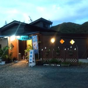 奄美大島のディナー(一日目)